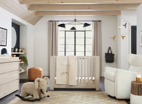 Pottery Barn Kids Launches Nursery Collection With
