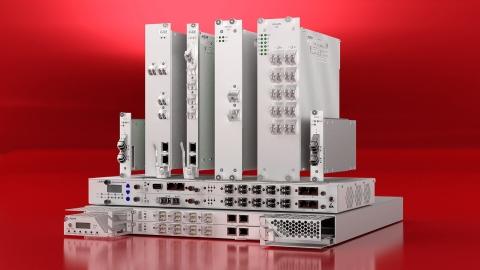 Das FSP 3000 Open-Line-System von ADVA ermöglicht die Bereitstellung von optischem Spektrum für Kommunikationsdienste. (Foto: Business Wire)