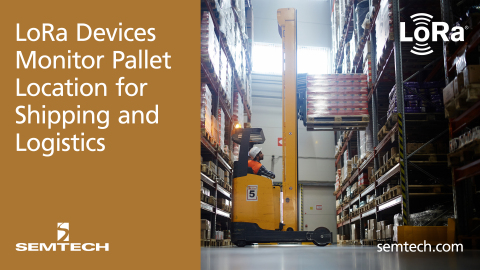 Pallet Alliance implements Semtech's LoRa (Graphic: Business Wire)