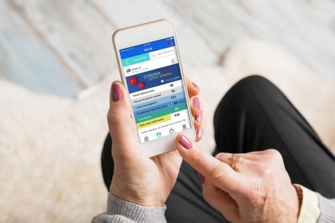 Technology can help older adults and their families connect meaningfully when they cannot be together in person. (Photo: Business Wire)