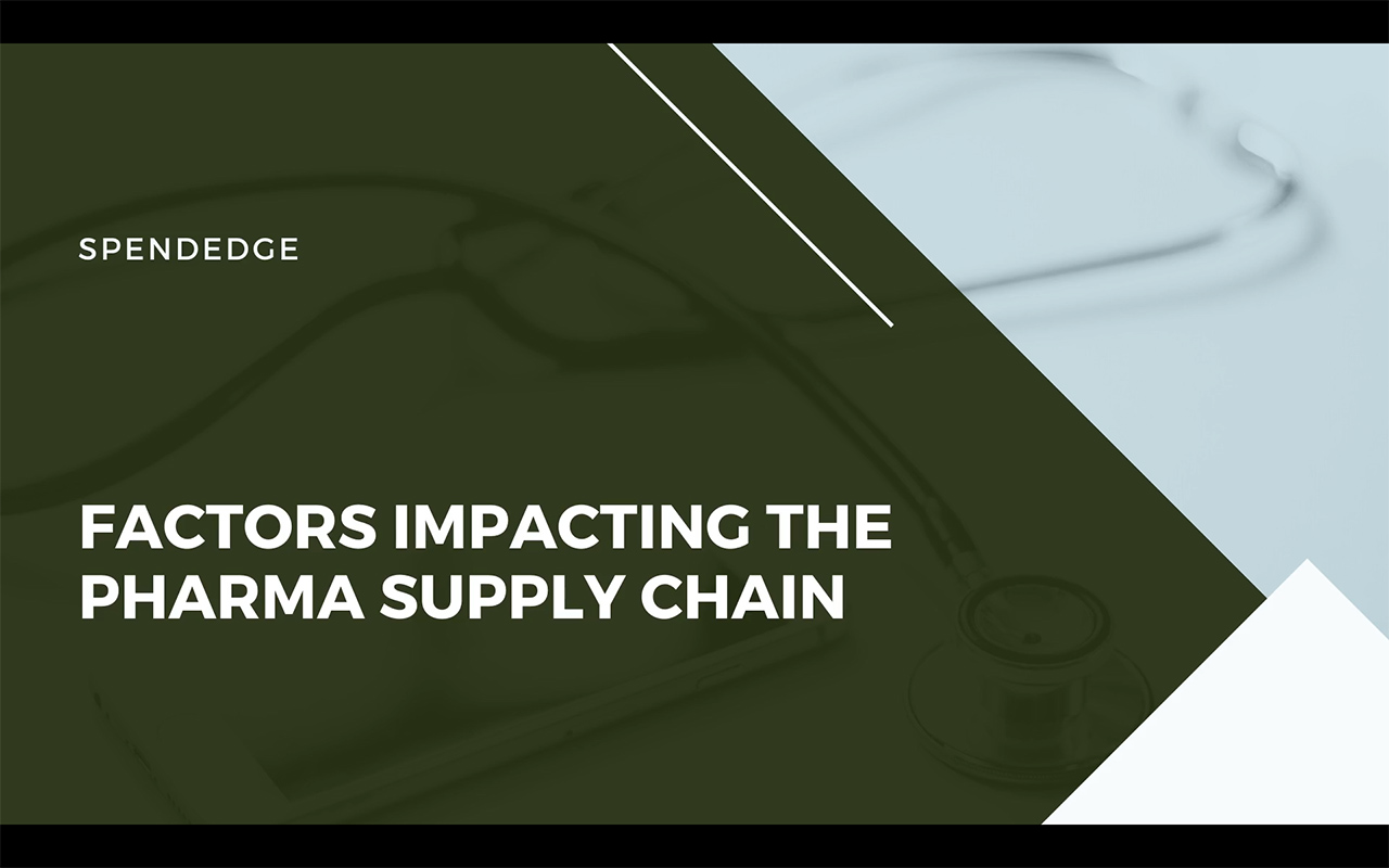 Factors Impacting the Pharma Supply Chain.