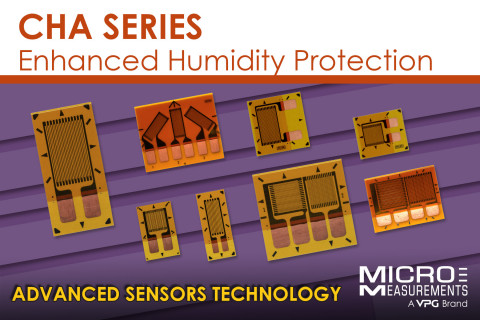 CHA Series - Enhanced Humidity Protection with Advances Sensors Technology| Micro-Measurements. (Photo: Business Wire)
