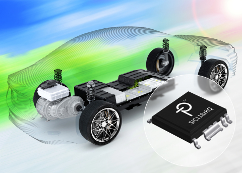 Power Integrations推出的适合SiC MOSFET的SCALE-iDriver已通过AEC-Q100汽车级认证 (图示:美国商业资讯)