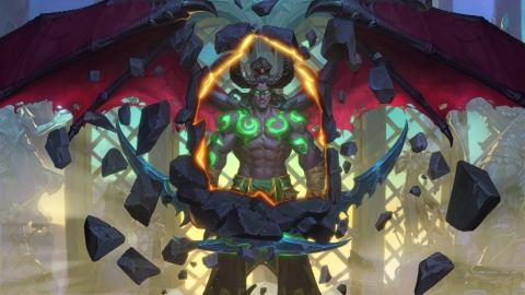 The Demon Hunter--the first ever new class in Hearthstone--focuses on aggressive play, and is free to all players. (Graphic: Business Wire)