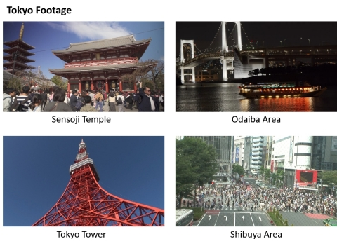 "Scenes from ""Tokyo Footage"" (Graphic: Business Wire)"