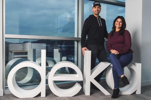 Michael and Jennifer Blair, Co-Founders Deka Lash (Photo: Business Wire)