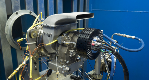 UAV Turbines today announced that its Monarch 5 turboshaft engine can now run on natural gas, signifying an unmatched level of fuel flexibility. (Photo: Business Wire)