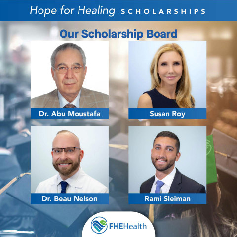 Meet the Hope for Healing Scholarship Board (Photo: Business Wire)