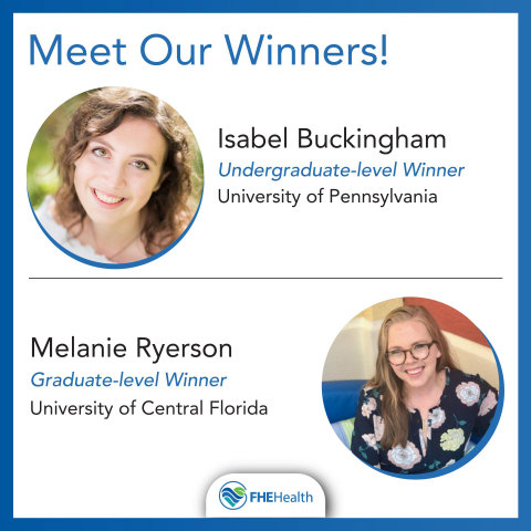 Meet the Winners of the Hope for Healing Scholarship (Photo: Business Wire)