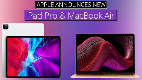 Apple iPad Pro with LiDAR and Enhanced MacBook Air (Photo: Business Wire)