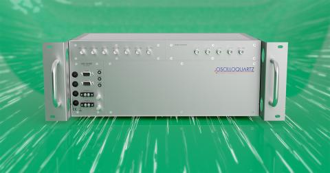 ADVAs Cäsiumatomuhr OSA 3230B übernimmt eine wichtige Rolle in Viettels Mobilfunknetz bei der Vorbereitung auf 5G (Graphic: Business Wire)