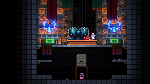 Exit the Gungeon is a bullet-hell dungeon climber immediately following the events of Enter the Gungeon. (Photo: Business Wire)