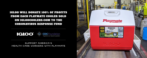 Igloo pledges profits to CDC Foundation's Coronavirus response fund. (Photo: Business Wire)
