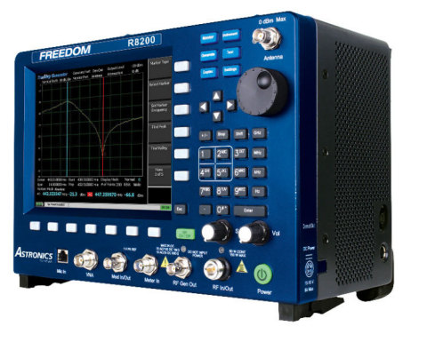 The FREEDOM R8200 from Astronics offers comprehensive testing for LMR radio systems and infrastructure in one, portable package. (Photo: Business Wire)