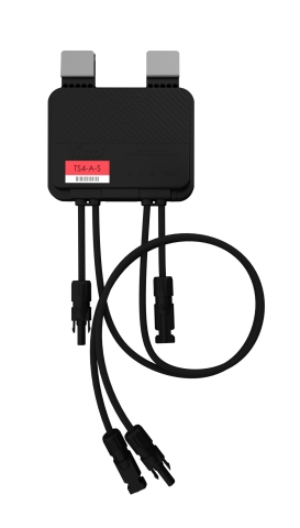 The TS4-A-S provides module-level shutdown when installed on each PV module and accompanied by Tigo's communication accessories. Production data can be analyzed via Tigo's SMART Website or App when connected to the cloud. Now taking orders for the TS4-A-S worldwide. (Photo: Business Wire)