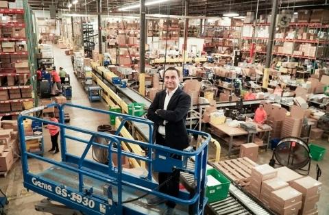 Rafael Zakinov, CEO of Ruby Has Fulfillment (Photo: Business Wire)