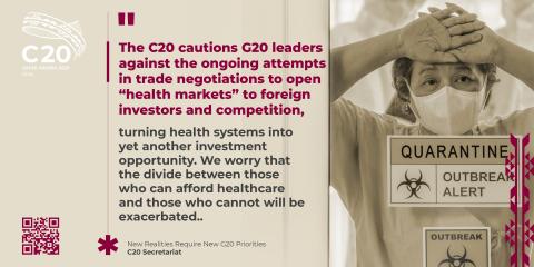 The healthcare divide (Photo: AETOSWire)