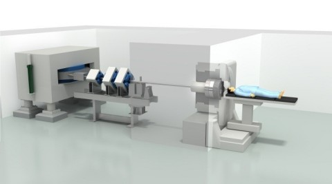 Accelerator based BNCT system and its cyclotron (Graphic: Business Wire)