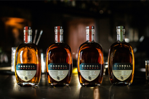 """Barrell Craft Spirits' Barrell Bourbon Batch 021 was named """"Best Bourbon"""" and """"Best Small Batch Bourbon"""" – both overall and within the 6-10 year category – at the 2020 San Francisco World Spirits Competition. Additionally, Barrell Bourbon Batch 020 and Barrell Rye Batch 003 were also awarded Double Gold medals, while Barrell Bourbon Batch 022 earned a Gold Medal. (Photo: Business Wire)"""