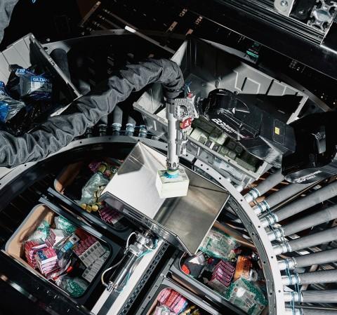 Berkshire Grey's Robotic Store Replenishment Solution (Photo: Business Wire)