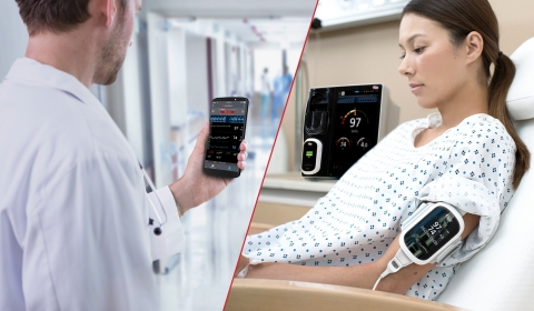 Masimo Patient SafetyNet™ with Root®, Radius-7®, and Replica™ (Photo: Business Wire)