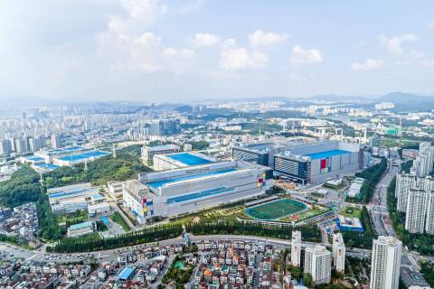 Samsung Electronics Hwaseong Campus (Photo: Business Wire)