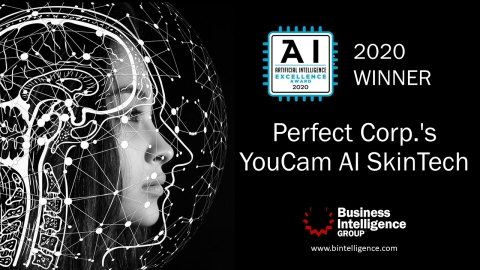YouCam's AI Skin Diagnostic Technology is recognized by the Business Intelligence Group for leadership in advanced artificial intelligence (Photo: Business Wire)