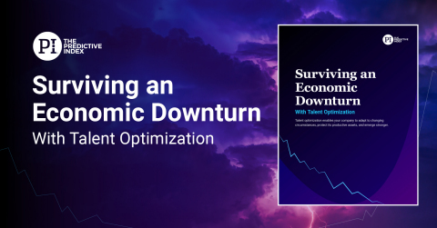 New Guide Helps Businesses Lead Through the Economic Downturn and Emerge Stronger with Talent Optimization (Graphic: Business Wire)