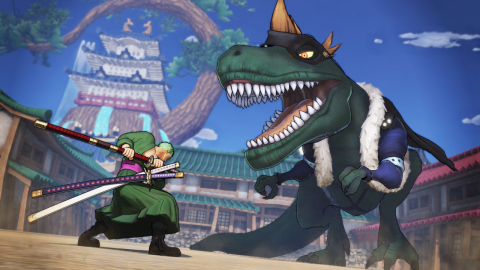 ONE PIECE: PIRATE WARRIORS 4 will be available on March 27. (Graphic: Business Wire)