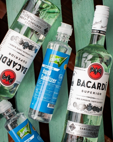 Bacardi Puerto Rico Provides Raw Materials for Hand Sanitizers - Photo Courtesy of Bacardi