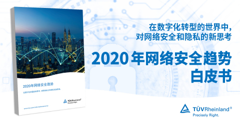 TÜV Rheinland releases White Paper on Cybersecurity Trends 2020 (Graphic: Business Wire)