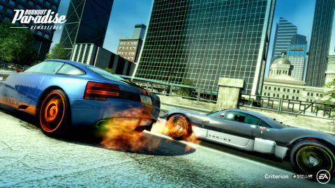 Players Can Experience the Ultimate Driving Playground Online or On-The-Go with Burnout Paradise Remastered on the Nintendo Switch. (Photo: Business Wire)