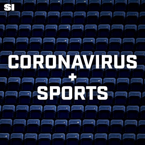Coronavirus + Sports Podcast, sharing candid stories of how the global COVID-19 pandemic is impacting the world of sports. (Graphic: Business Wire)