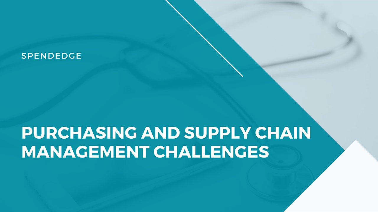 Purchasing and Supply Chain Management Challenges.
