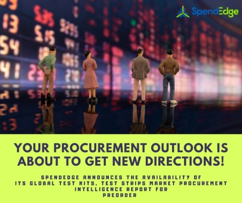 Global Test Kits, Test Strips Market Procurement Intelligence Report (Graphic: Business Wire)