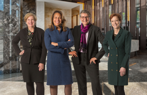 Pictured from left to right: Julie A. Beck, Diana S. Ferguson, Petra Danielsohn-Weil and Susan H. Alexander. (Photo: Business Wire)