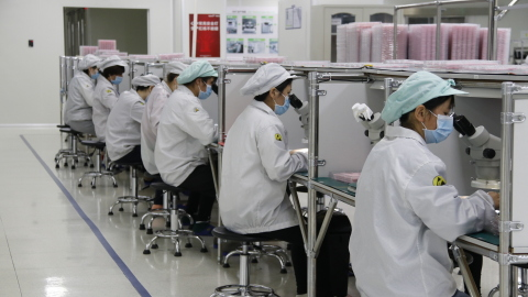 Hytera's intelligent manufacturing center stays business as usual (Photo: Business Wire)