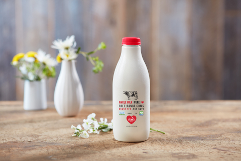 "Hart Dairy has redefined the grass-fed dairy standard through its production of premium ""Grass 365"" dairy products, including fresh milk, yogurt, cheese and butter varieties. (Photo: Business Wire)"