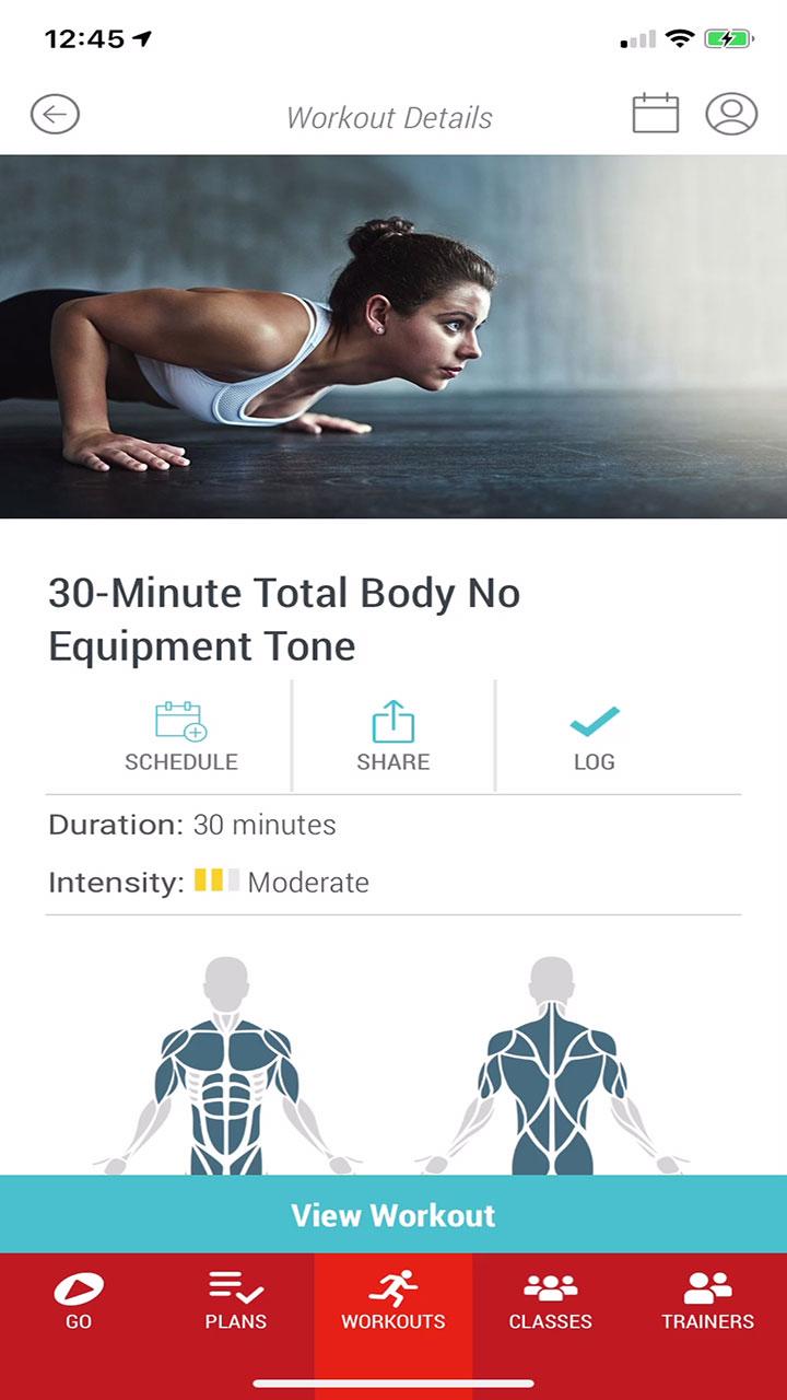 24GO 30-Minute Total Body No Equipment Tone