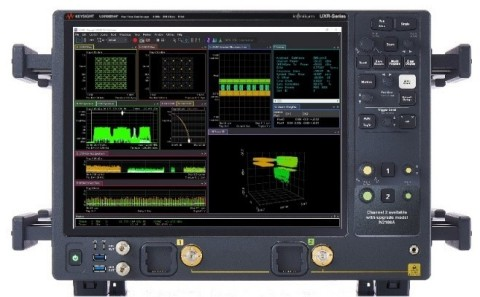 Keysight's latest edition to the company's UXR-Series of oscilloscopes, the UXR0051AP Infiniium UXR-Series Oscilloscope, offers a frequency range of 110 GHz and 5 GHz of standard analysis bandwidth, and provides fast, affordable and flexible analysis of wideband measurements. (Photo: Business Wire)