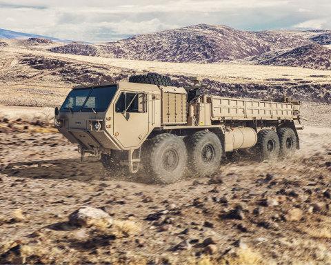Oshkosh Defense HEMTT A4 GMT (Photo: Business Wire)