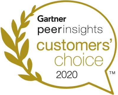 Gartner Peer Insights Customers' Choice 2020 (Photo: Business Wire)