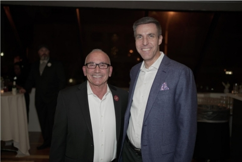 John V. LaBarbera, Tunnel to Towers Executive Board Member and retired Battalion Commander, FDNY, and John Ehle, President, Hunt Military Communities. (Photo: Business Wire)
