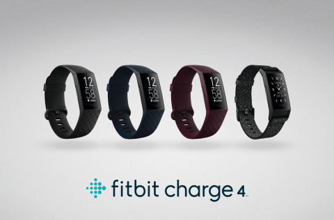 Fitbit Charge 4 Lineup (Photo: Business Wire)