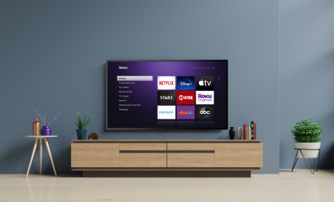 Roku TV and Home Screen (Photo: Business Wire)