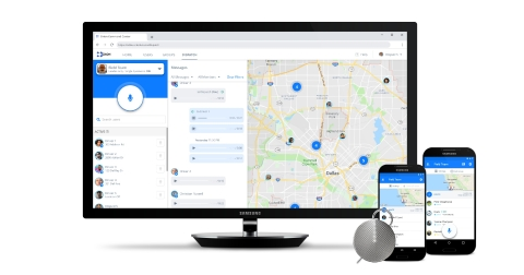 The Orion Voice Platform helps enterprises coordinate frontline workers effectively with solutions like the cloud-native Dispatch Console. (Graphic: Business Wire)