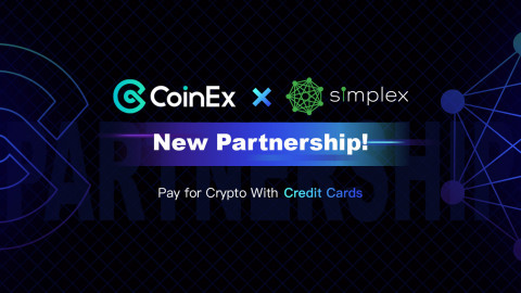 CoinEx and Simplex Established a New Global Partnership. (Photo: Business Wire)