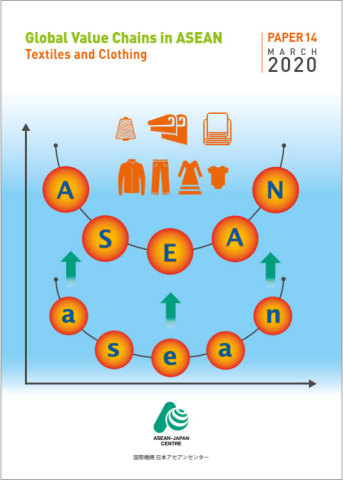 """""""Global Value Chains in ASEAN: Textiles and Clothing"""" issued by AJC (Graphic: Business Wire)"""