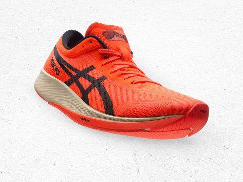 METARACER™ : ASICS' most advanced long-distance racing shoe yet.