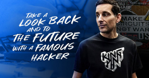 Explore Joe Grand's life journey as a hardware hacker. Known as Kingpin, his curiosity has been manipulating electronic devices since the 1980s. Learn more about his hacker lifestyle and get a glimpse inside Joe's mind as he explains how hacking, technology and engineering fuels his passion. https://youtu.be/5bcbmef4I3I (Graphic: Altium LLC)